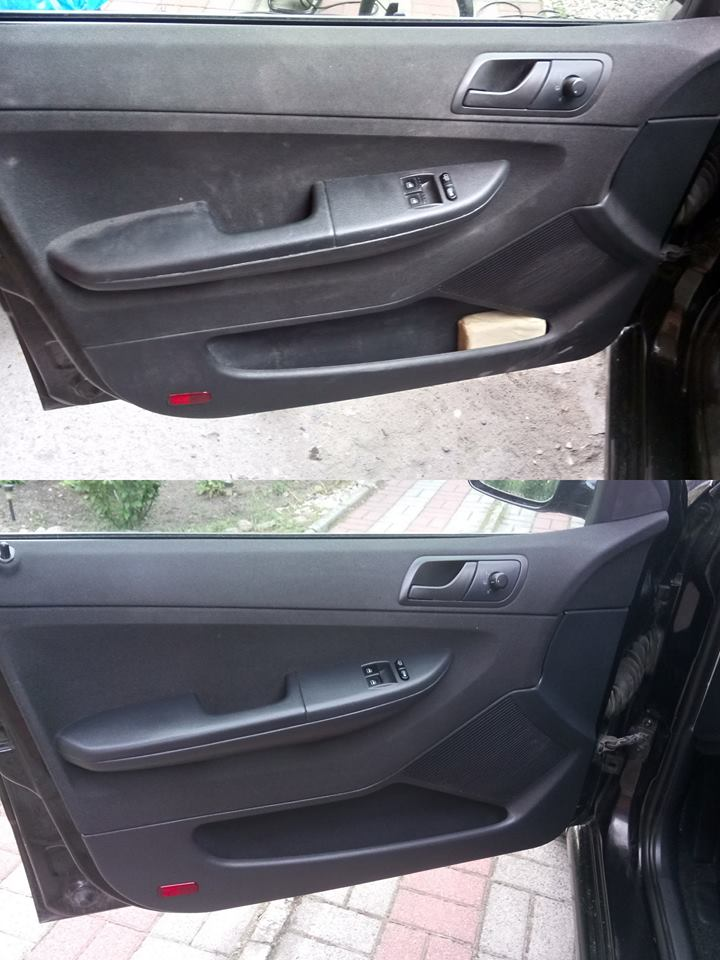 Pranie wnętrza samochodu